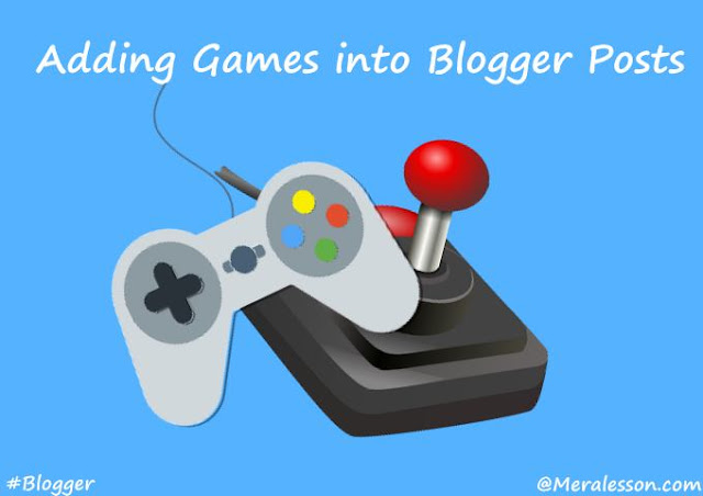 embed games to your blog