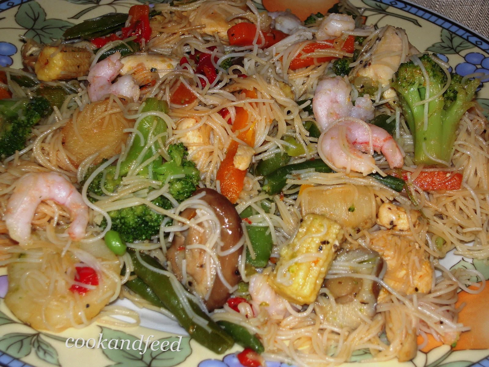 how to cook crispy rice vermicelli