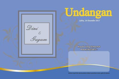 Download,Template, Desain, Undangan Pernikahan, Format CDR,