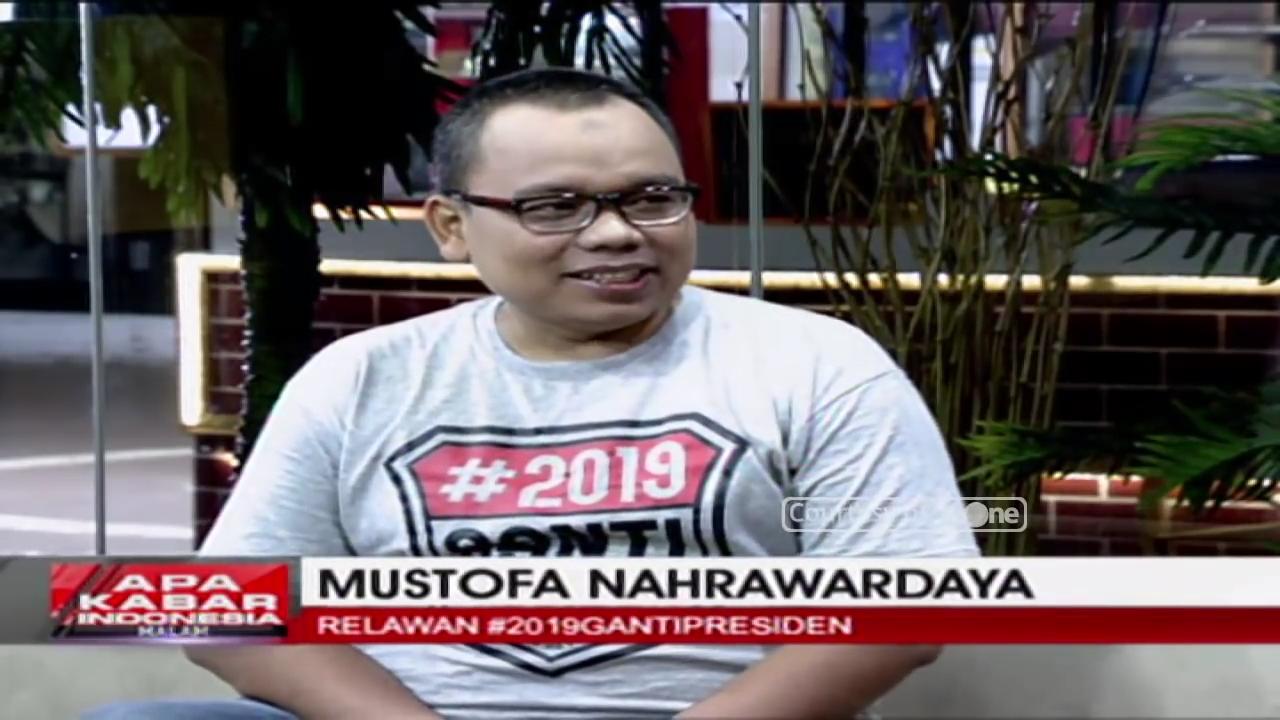 Isu #2019GantiPresiden Dikoordinir, Begini Jawaban Telak Mustofa Nahra