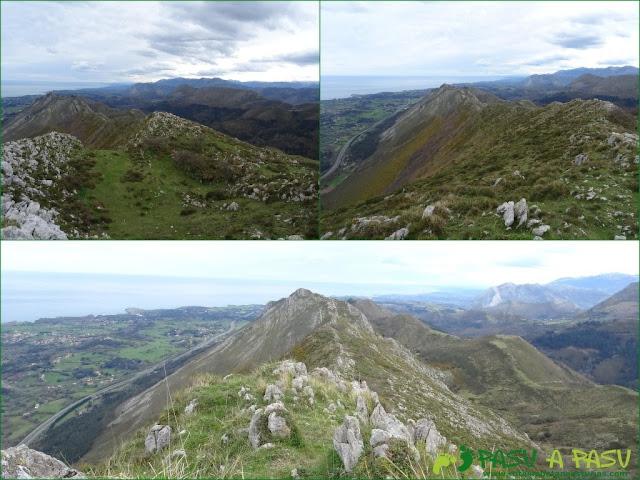 Sierra de la Cueva Negra: Desde el Alto Teyadera camino al Pico Bacia