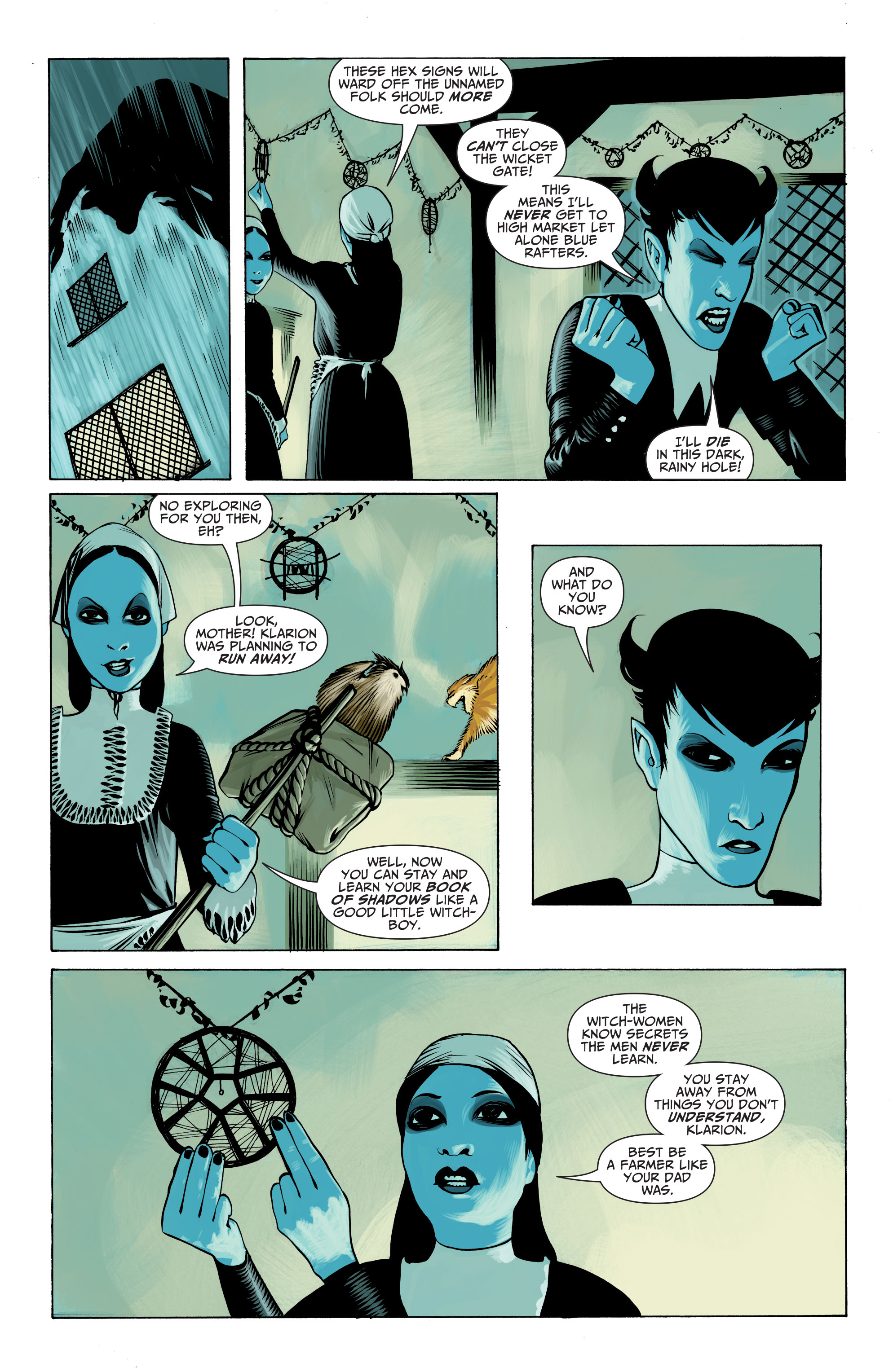 Read online Seven Soldiers: Klarion the Witch Boy comic -  Issue #1 - 16