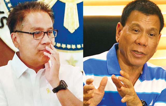 Former DILG Secretary Mar Roxas lashed out against Mayor Rody Duterte's accusations