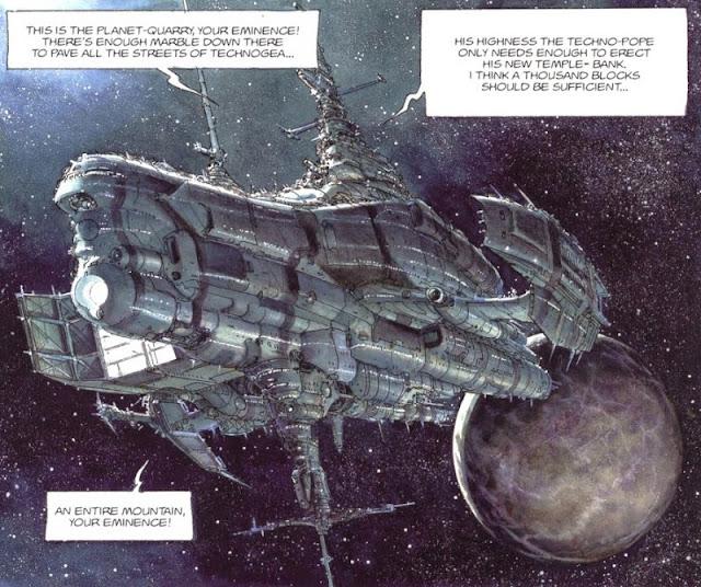 fumetto fantascienza