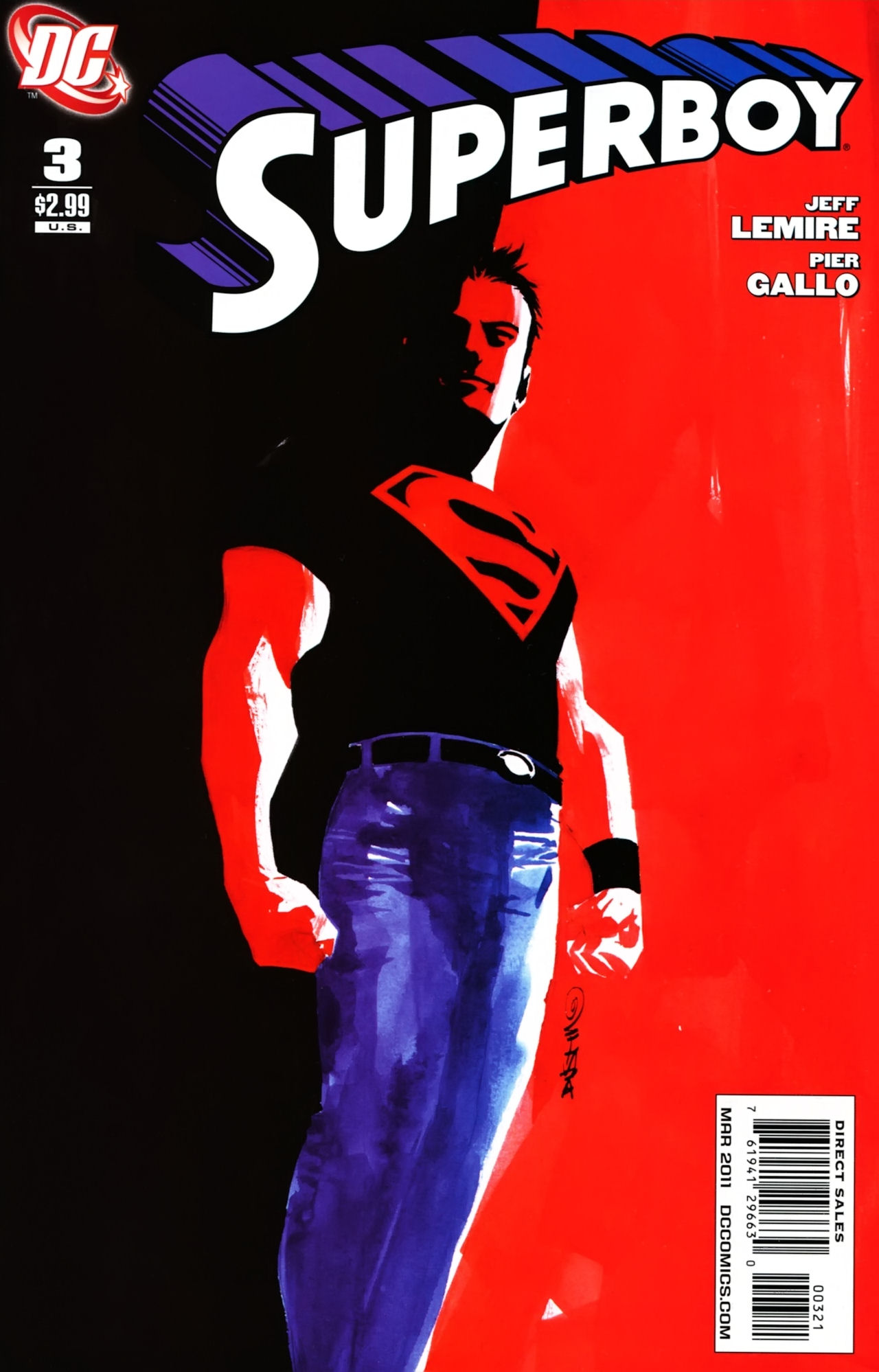 Superboy [I] Issue #3 #3 - English 2