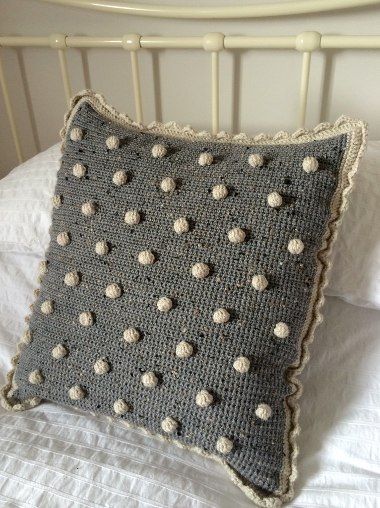 Bobbly cushion