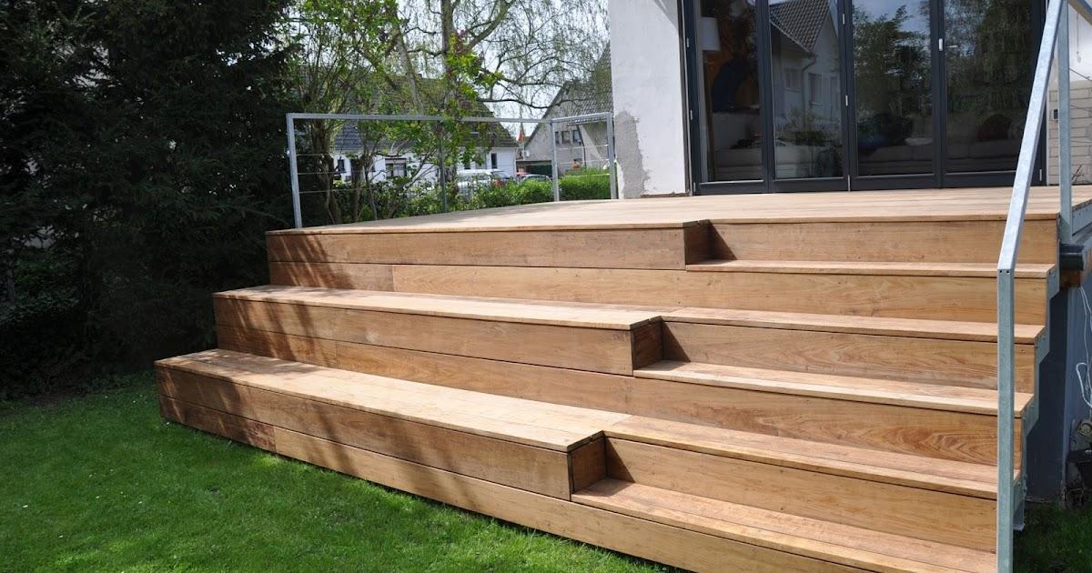 Fabulous FRÖBEL METALLBAU : Terrasse aus Stahl mit Holzbelag PQ47