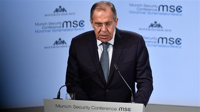Russian Foreign Minister Sergei Lavrov says Washington's election meddling claim mere 'blabber'