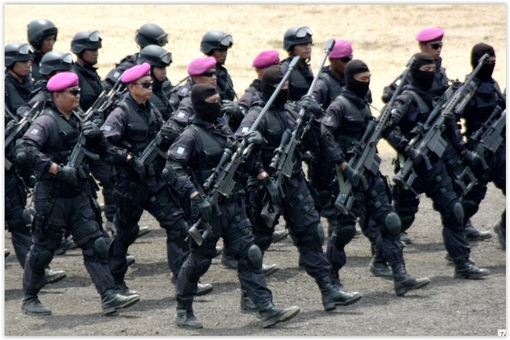 Pasukan Elite Inilah Yang Akan Siap Untuk Memberantas Teroris