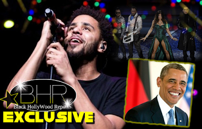 Rapper J.Cole Is To Perform At The President DNC Fundraiser , Hosted By The Black Eyed Peas And Honest Dollar CEO Whurley