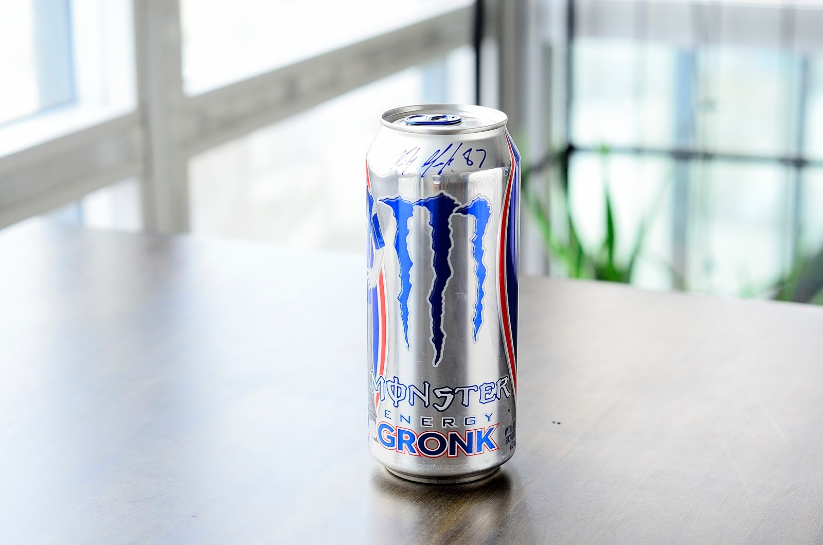 what i drink at work monster energy gronk review. Black Bedroom Furniture Sets. Home Design Ideas