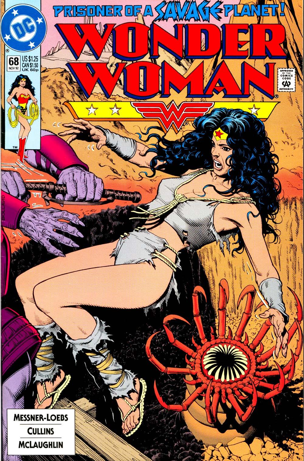 Read online Wonder Woman (1987) comic -  Issue #68 - 1