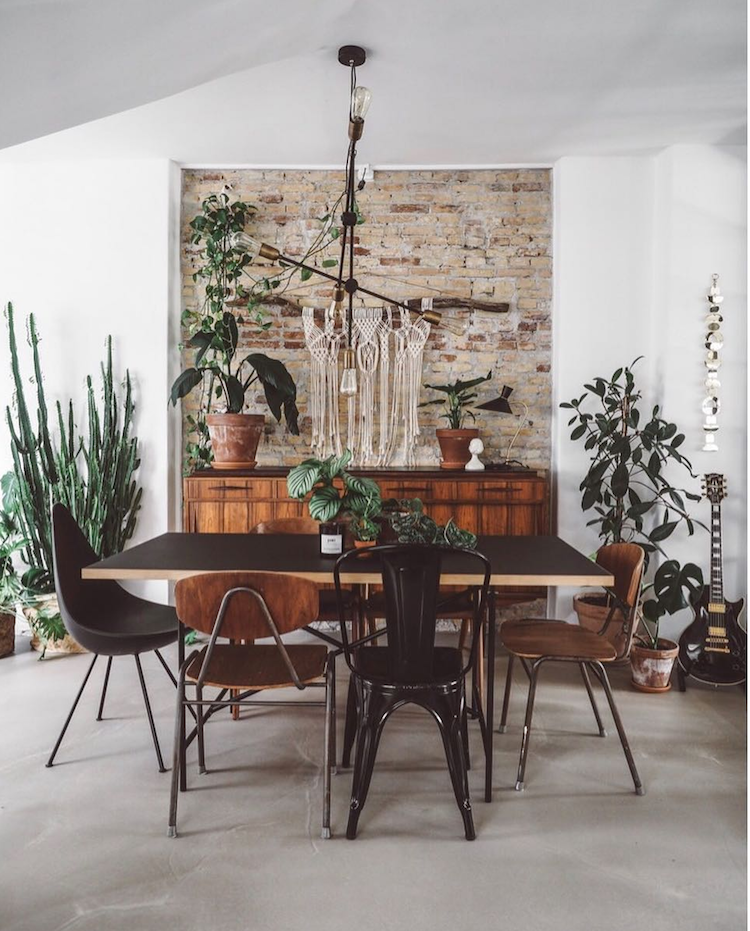 A Cosy Danish Loft Full of Plants & Vintage Treasures