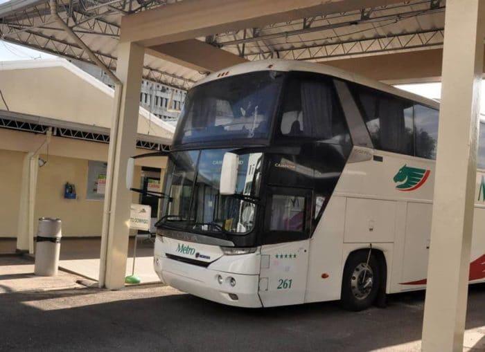 DGII también cerró las operaciones de Autobuses Metro en Santiago y Puerto Plata
