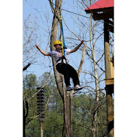 6 ziplines and 2 sky bridges at the Family Adventure Island