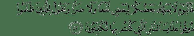 Surat Saba' Ayat 42