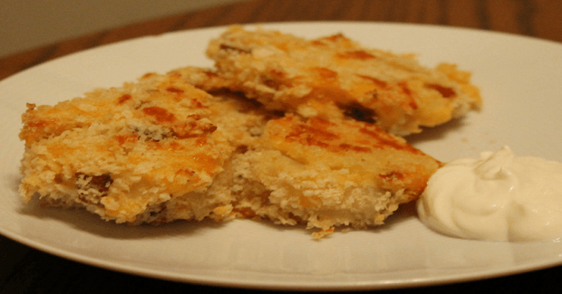 Baked Mashed Potato Pancakes Recipe