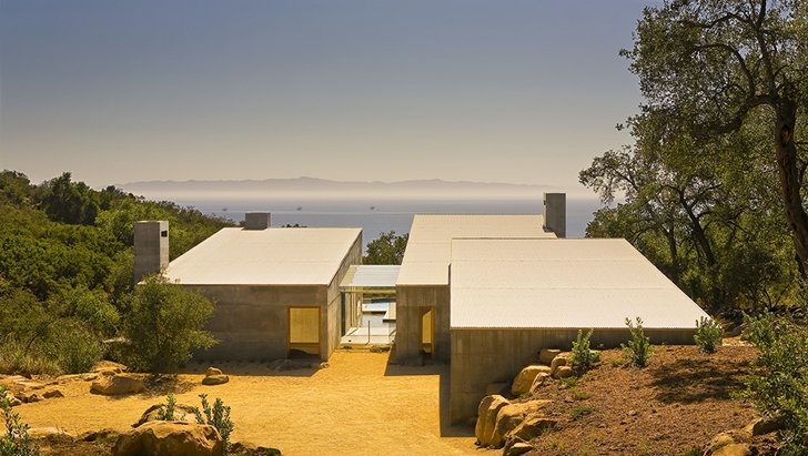 Concrete House by Shubin + Donaldson Architects