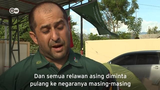 Relawan Asing Kebingungan Usai Diusir Indonesia