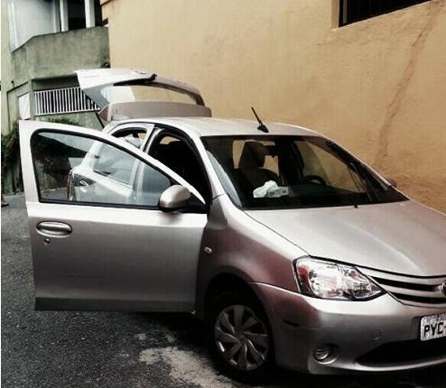 ROMO recupera veículo roubado pela favela do Sorocaba em Santo André
