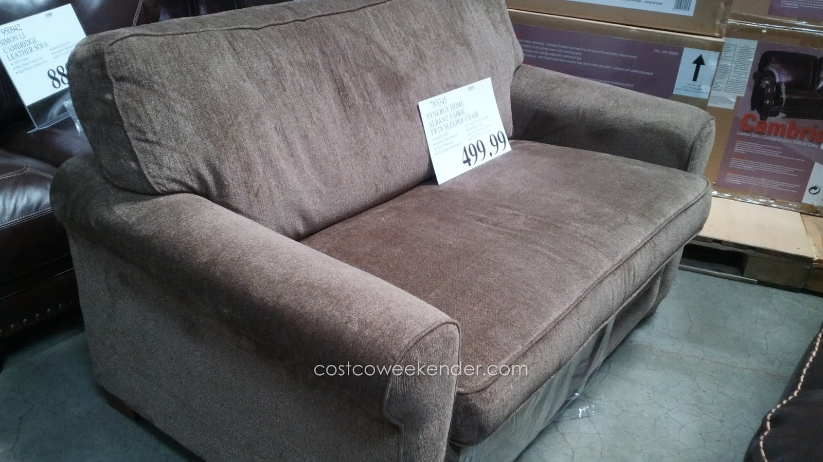 Costco Sofa Sleeper Sleeper Sofa Costco Or Synergy Home 44