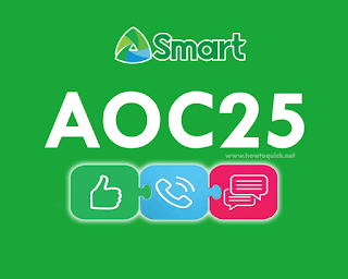 Smart AOC25 – Unli FB, All-net texts, 200MB data + 80mins Trinet calls for 2 days