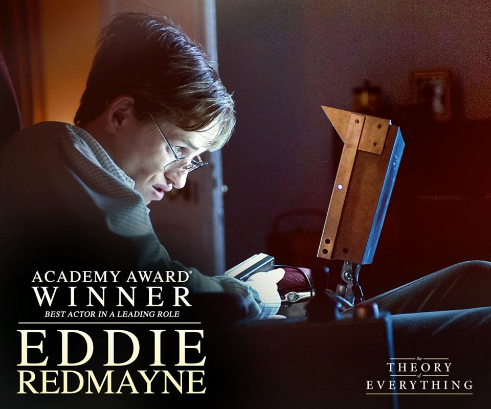 2015 oscar en iyi erkek oyuncu odulu eddie redmayne the theory of everything