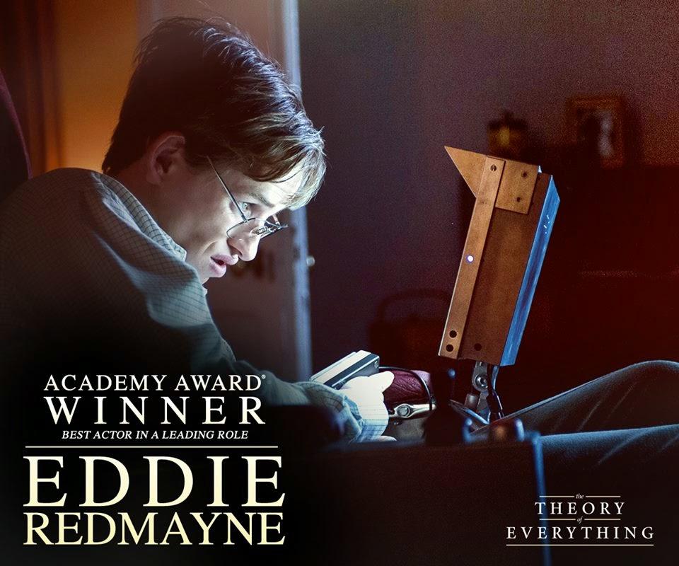2015 oscar en iyi erkek oyuncu odulu eddie redmayne the theory of everything