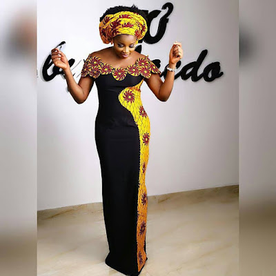 The High Slit, Off Shoulder, Ebuka Agbada, Owanmbe Styles