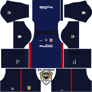 equipacion de atletico de madrid para dream league soccer