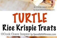 TURTLE RICE KRISPIE TREATS