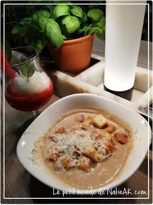 Recette de fêtes Soupe castagne chez Vapiano