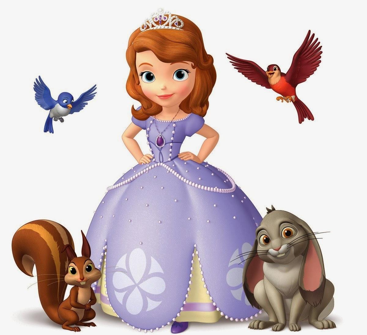 Desenhos Animados Princesa Sofia