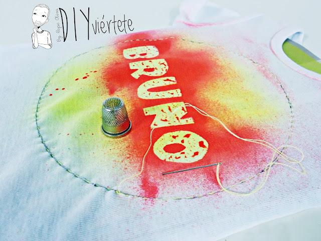pintura-spray-fashion-la pajarita-pintura textil-tela-body-bebé-batik-7