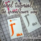 Label Tutorial by Jaybird Quilts