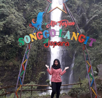 Wisata Air Terjun Songgo Langit di Jepara