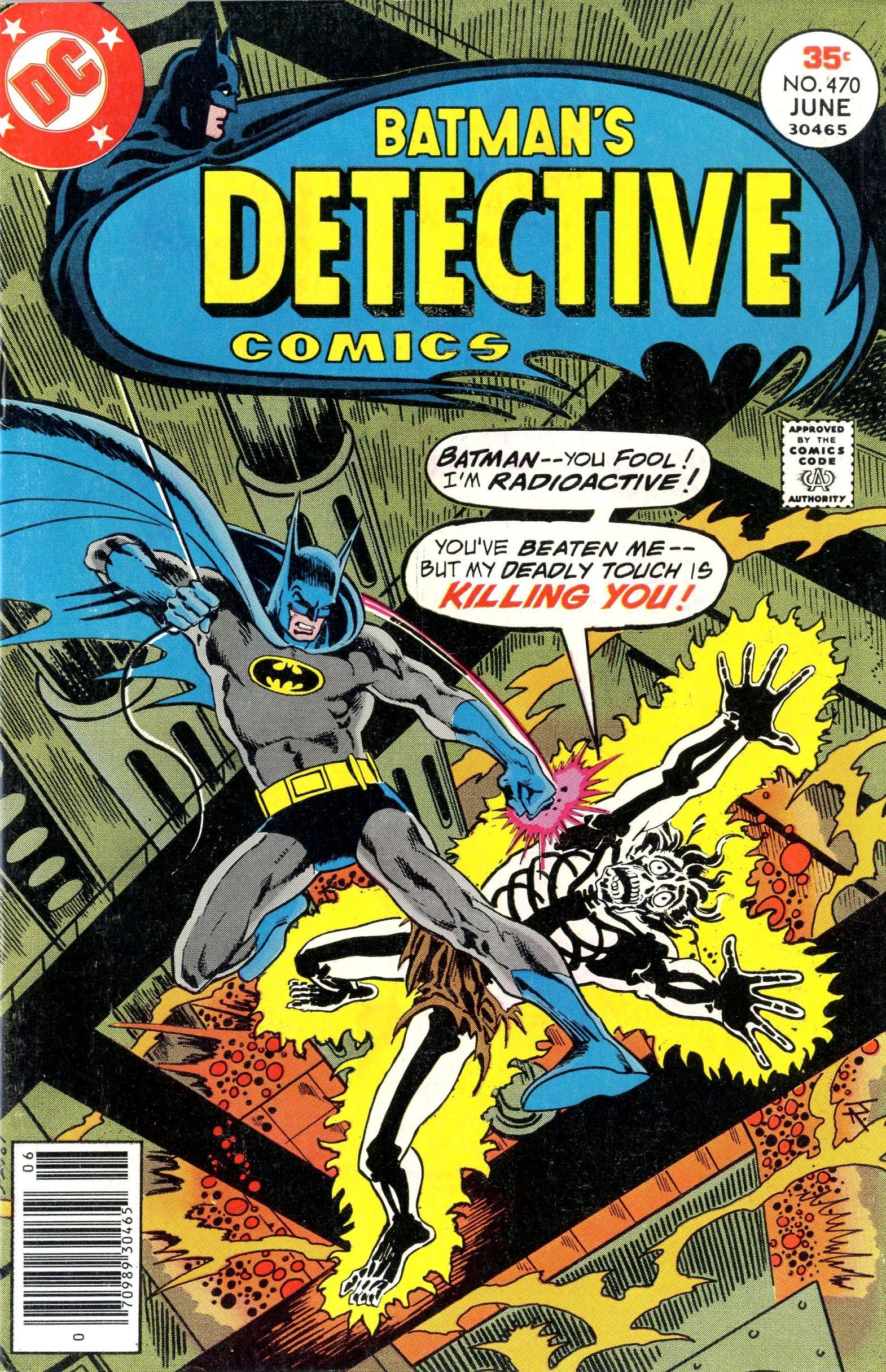 Detective Comics (1937) 470 Page 1