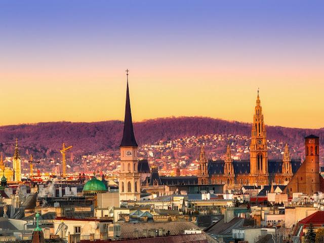 Fuso Horário Viena X Brasil | Áustria