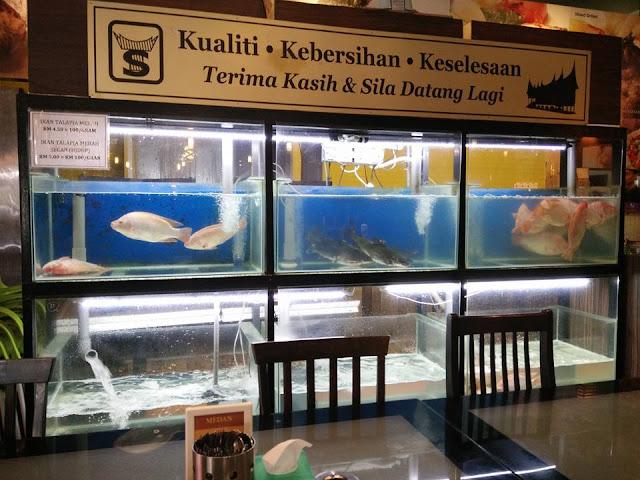 Ikan Fresh Di Restoran Simpang Tiga Ipoh