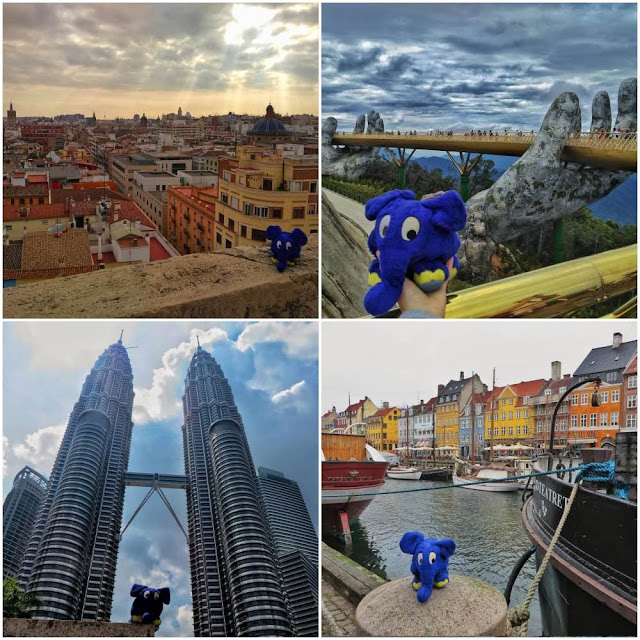 Top travel plushie Instagram account