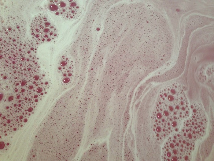 an image of rose bubble bar