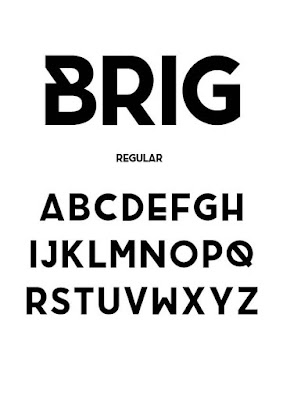 brig is a solid bold free font