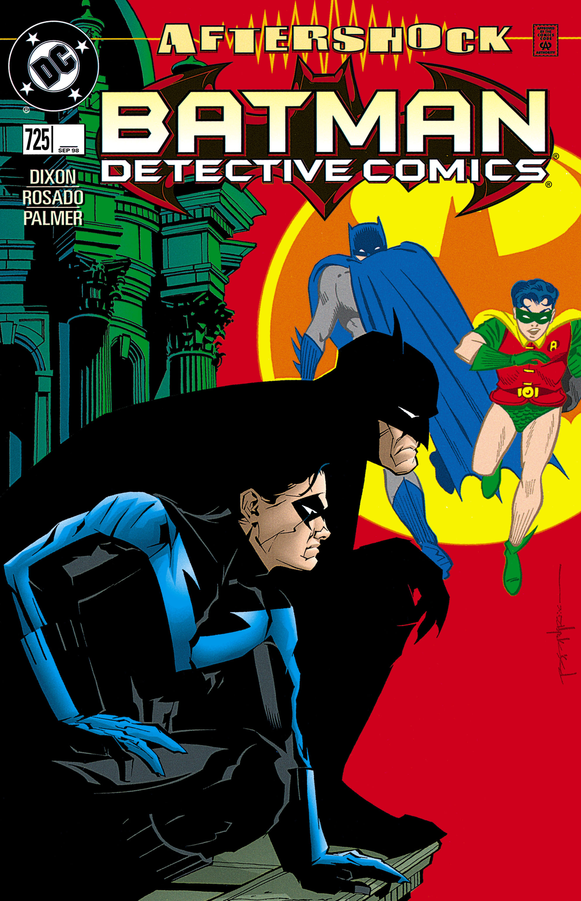 Detective Comics (1937) 725 Page 1