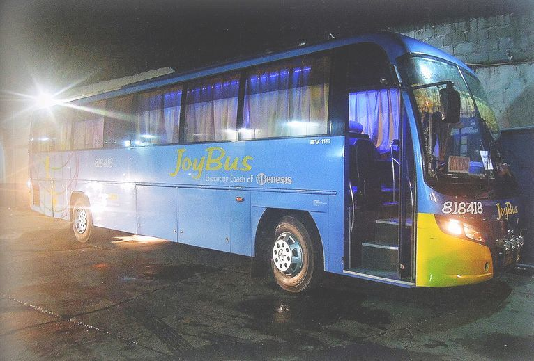 Joybus bound for Baler