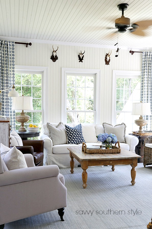 Southern Living Sun Room Decor