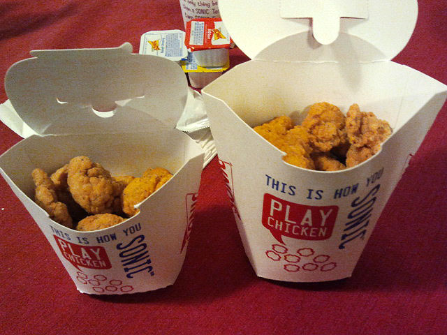 The gallery for --> Burger King Popcorn Chicken