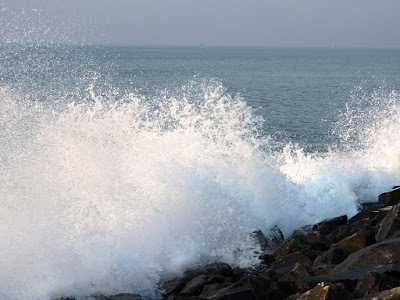 Wave in Digha Sea Beach