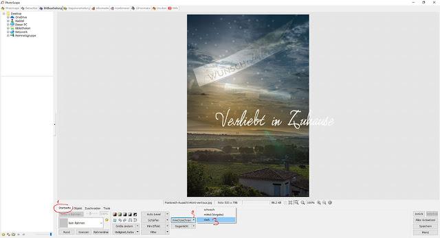 PhotoScape Anleitung und Schritt für Schritt mit Bilder-Tutorial: Funktion Weichzeichner