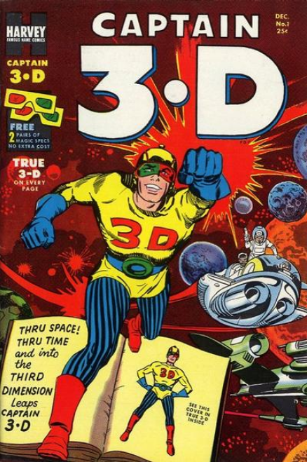 Jack Kirby Captain 3D