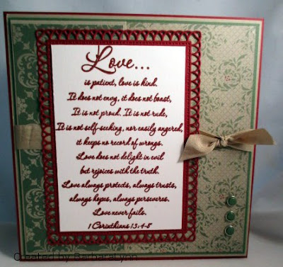 ODBD 1 Corinthians, Card Created by BarbaraLynn